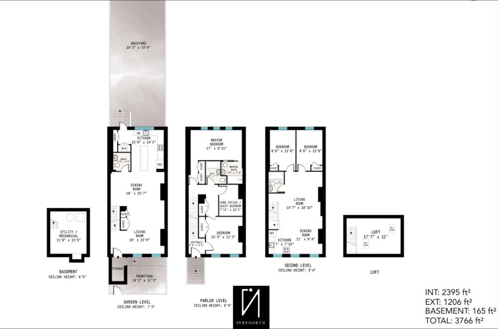 81 Adelphi Street Ivey North Floor Plan.png