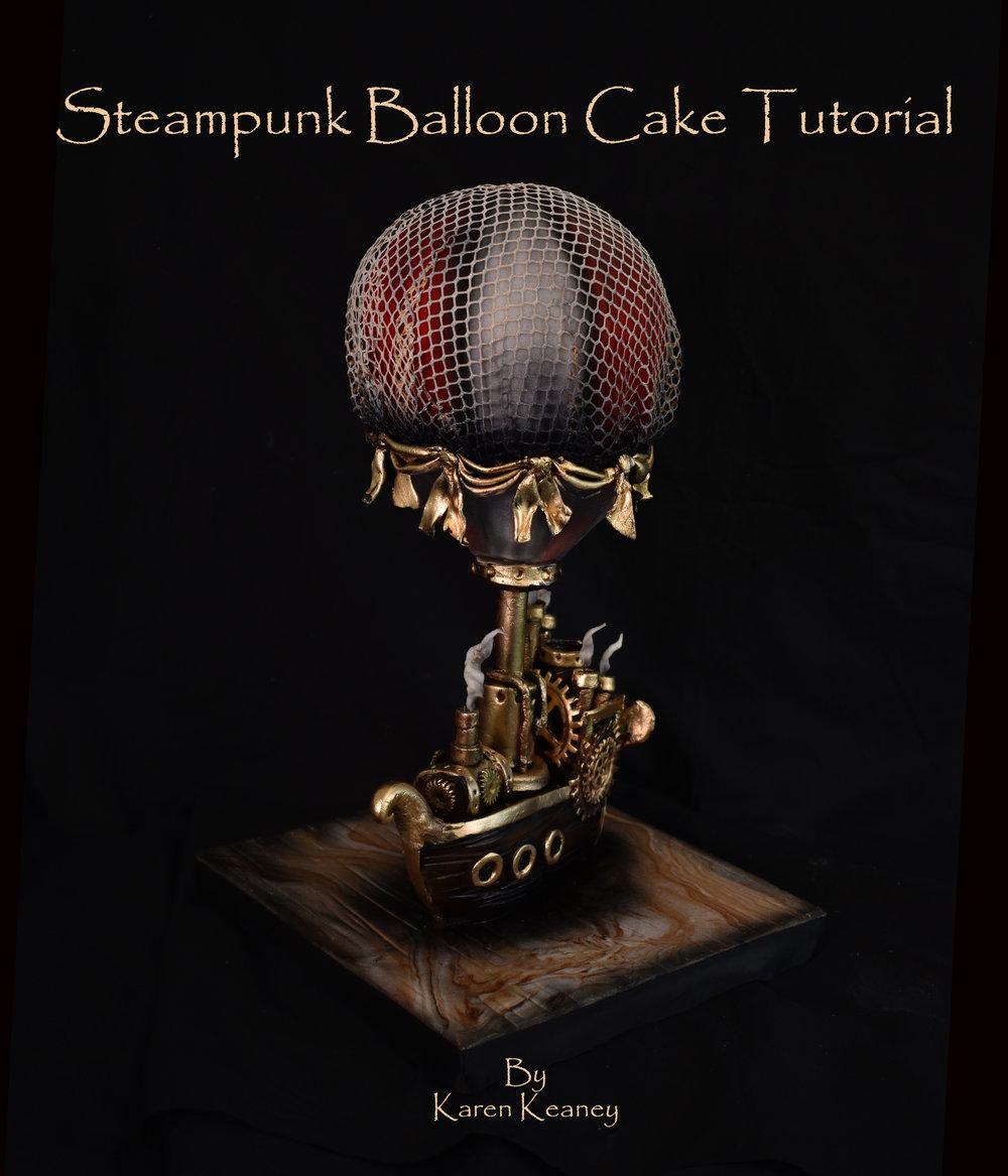 Steampunk Hotair Balloon Cake Tutorial
