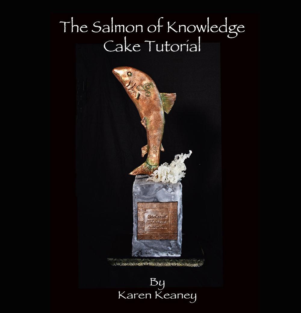 Salmon of Knowledge Cake Tutorial