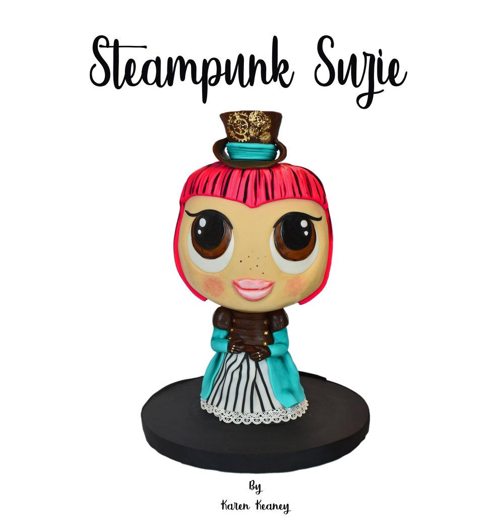 Steampunk Suzi Cake Tutorial