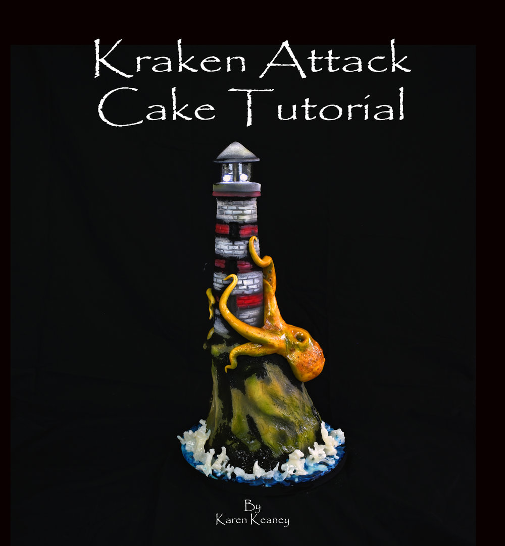 Kracken Attack Cake Tutorial