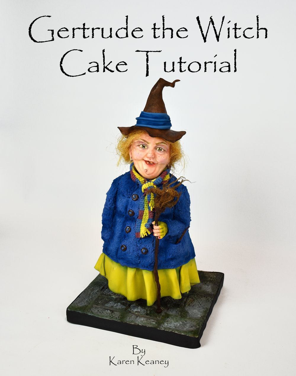 Gertrude the Witch Cake Tutorial