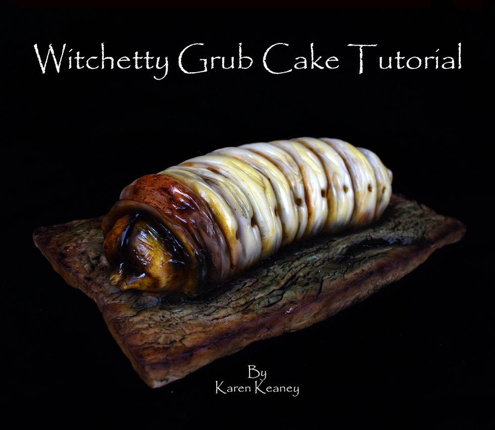 Witchetty Grub Cake Tutorial