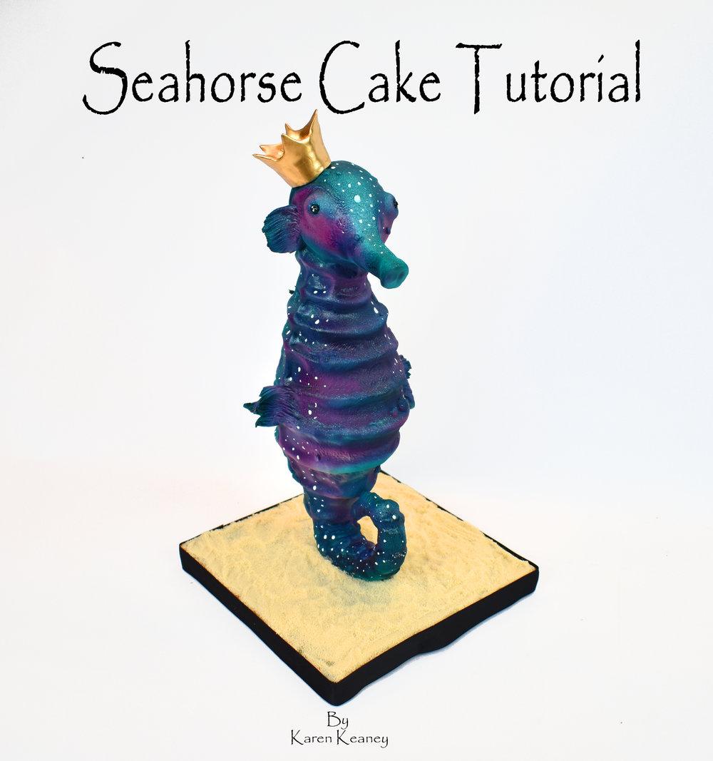 Seahorse Cake Tutorial