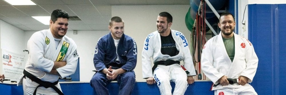 Pictured above: black belts Miguel Benitez, Gordon Ryan, Garry Tonon, and Tom DeBlass