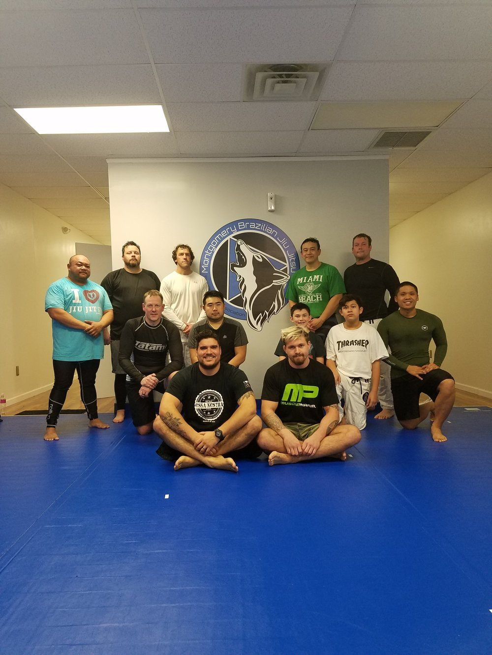 Seminar with teammate and ADCC Champion Gordon Ryan.