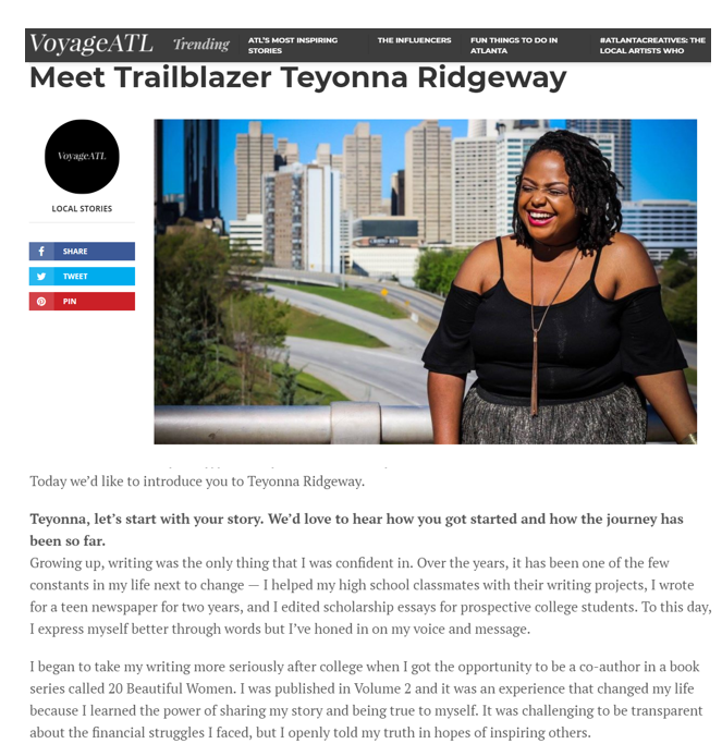 Atlanta Raised. Howard Made. - My mom moved our family from Niagara Falls, NY to Atlanta for a better life and I thank her for it often! I've been awarded so many amazing opportunities because of my city. Check out my VoyageATL feature to learn more about me!