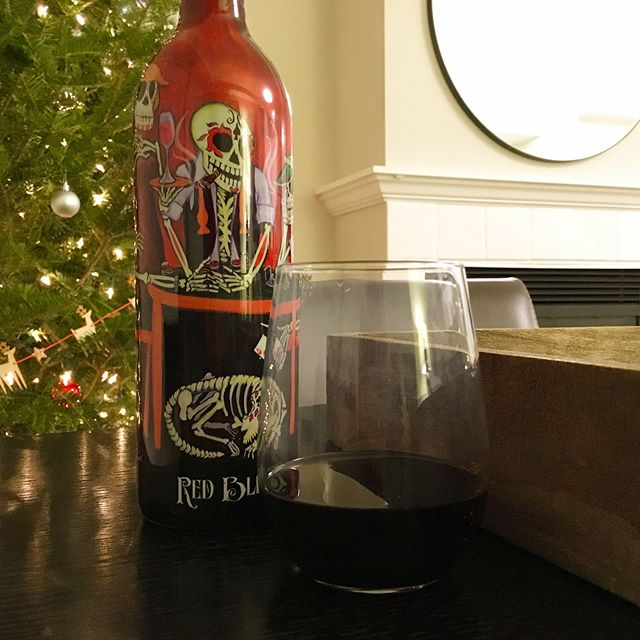 """We're celebrating #12daysofwine with a series of wines worthy of any holiday! Sixth, @lacatrinavino Red Blend. A wine that sings, """"Remember Me"""" with its cherry berry-forward flavor and just the right touch of a dry bite. We won't be forgetting this one anytime soon.  #coco"""