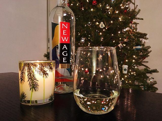 ‪We're celebrating #12daysofwine with a series of wines worthy of any holiday. Our 12th, @newagewine White is a great way to end a get together. It's slightly sweet and reminiscent of champagne. #siptothat Cheers and Merry Christmas!‬