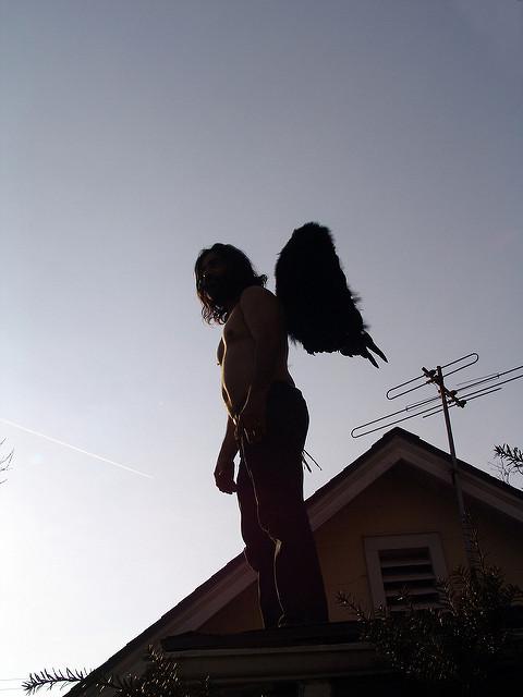 """Angel on My Roof"" 18 March 2008 ~LGHurcomb"