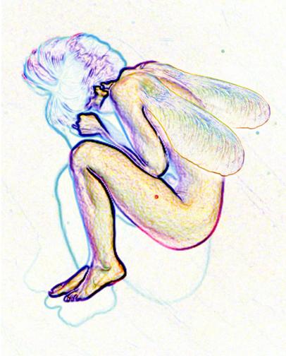 Maple Seed Fairy