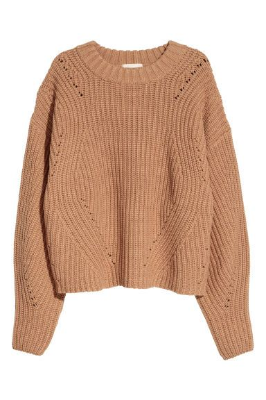 Knit Sweater - Beige