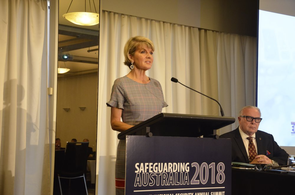 Safeguarding Australia 2018 Opening Keynote Address by the Foreign Minister, The Hon Julie Bishop MP