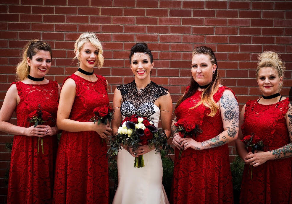 """Everyone's makeup for my wedding was great! They even set up a special order of Lipsense for me to make my look perfect!""  -Erika J."
