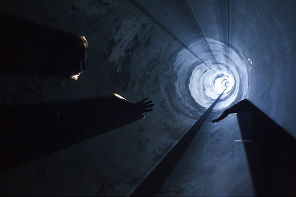 """Saschka's Inspiration: Anthony McCall's light sculpture """"A Line Describing A Cone"""" from the early 70s is to this day one of my favorite pieces of art to revisit and get inspired by for how interactive and social experiences don't need to be about recreating reality but can be about transcending it."""""""