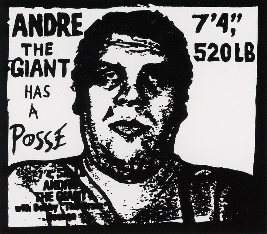 Justin's Street Art Mug Shot:  Shepard Fairey - Street artist known around the world.