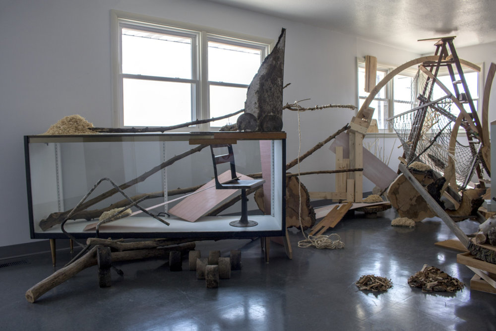 Burn Pile  (installation view)