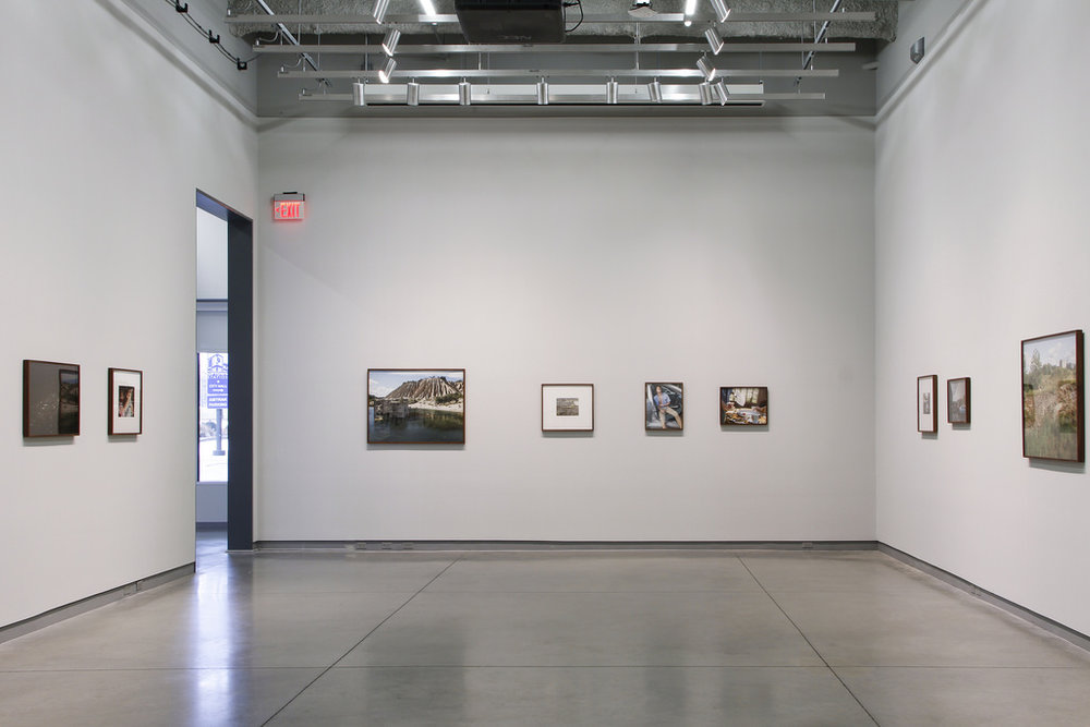 Installation view of  E.S.E.  at University Galleries in Normal, Il.