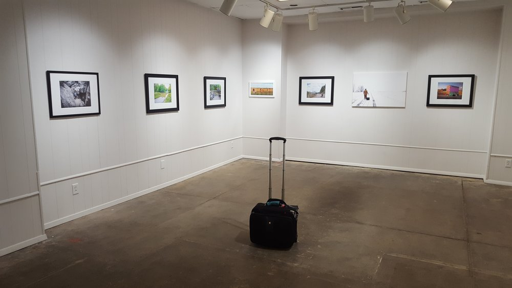 Installation view. Image courtesy of Edward Breitweiser.
