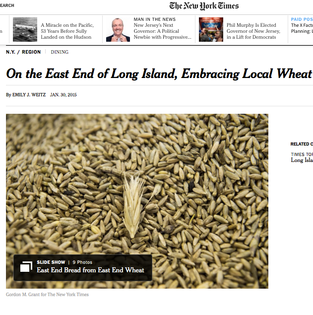New York Times - January 30, 2015 Read the full story