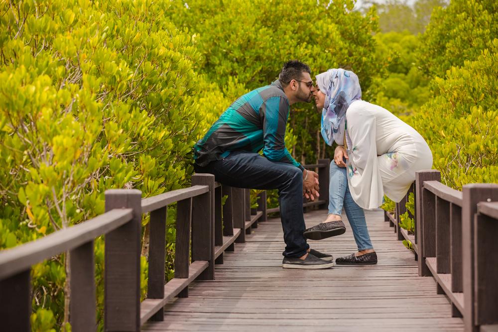 Couple Photo Session at Pranburi Forest Park