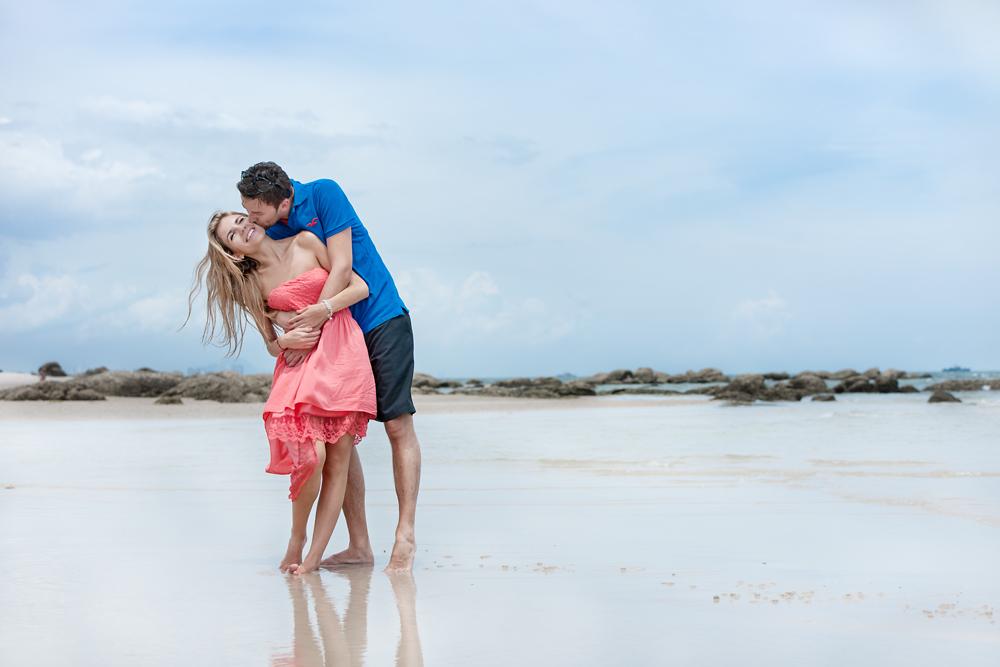 Couple Photo Session on Hua Hin Beach