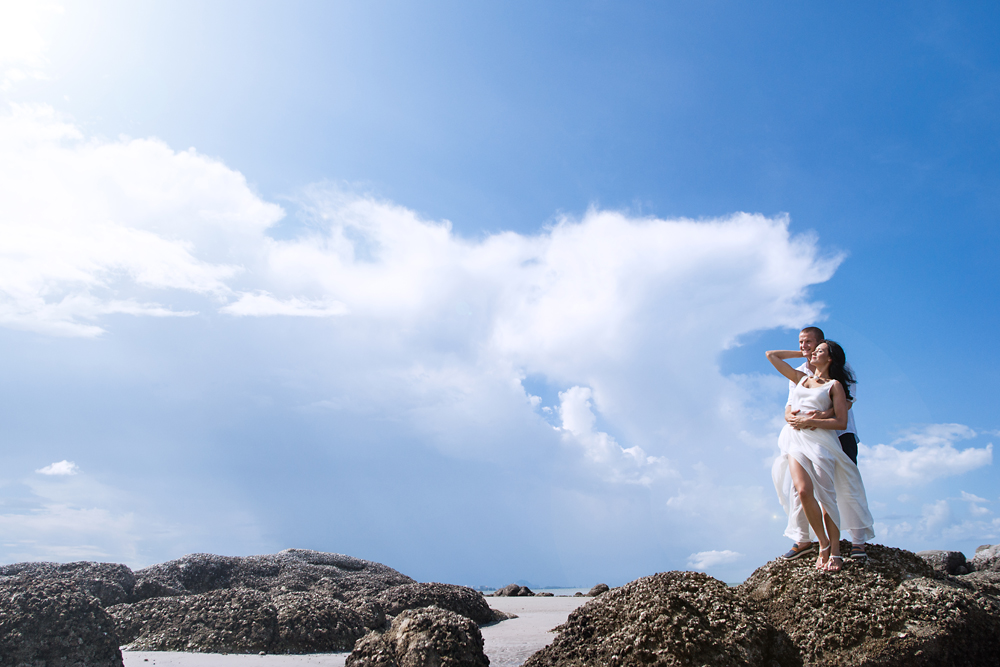 Honeymoon Couple Shoot on Hua Hin Beach