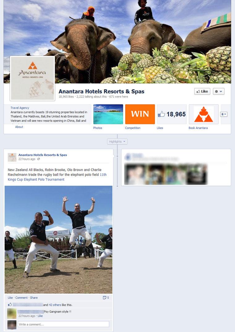 Elephant Polo Anantara Facebook
