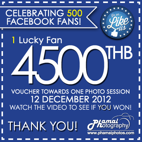 500 Phamai Photography Facebook Fans