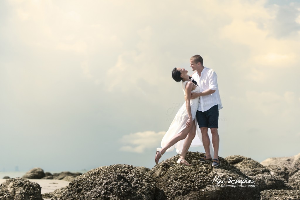 Hua Hin Beach Shoot Honeymoon