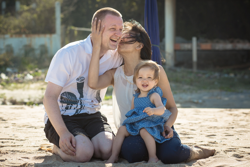 Family Photo Session at Sai Noi Beach in Khao Tao, Hua Hin