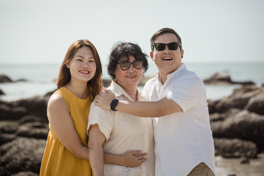 Family Photo Session on Hua Hin Beach
