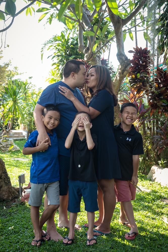 Family Photo Session at Hilton Hua Hin Resort and Spa