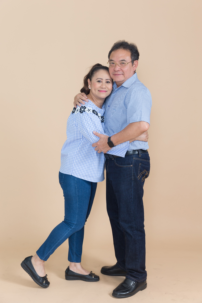 Couple Portrait Photo Session in Studio