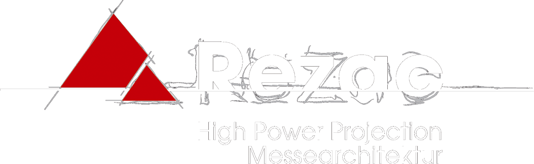 REZAC HIGH POWER PROJECTION / MESSEARCHITEKTUR