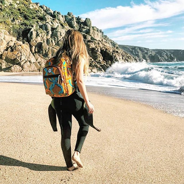 Jump on the ethical wave, with WATERPROOF TSM backpack. 🌊🌊🌊🖤✨ #surfing #sustainableliving #BelievingInBetter #wave #beachvibes #surfaccessories #ethicalclothing #mymarketplace