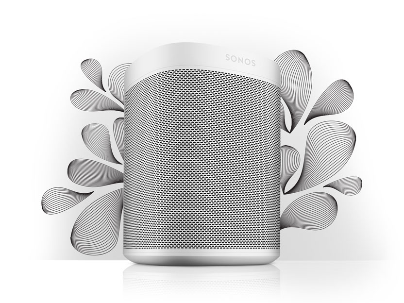 The newly-unveiled Smart Speaker for Music Lovers - the Sonos One