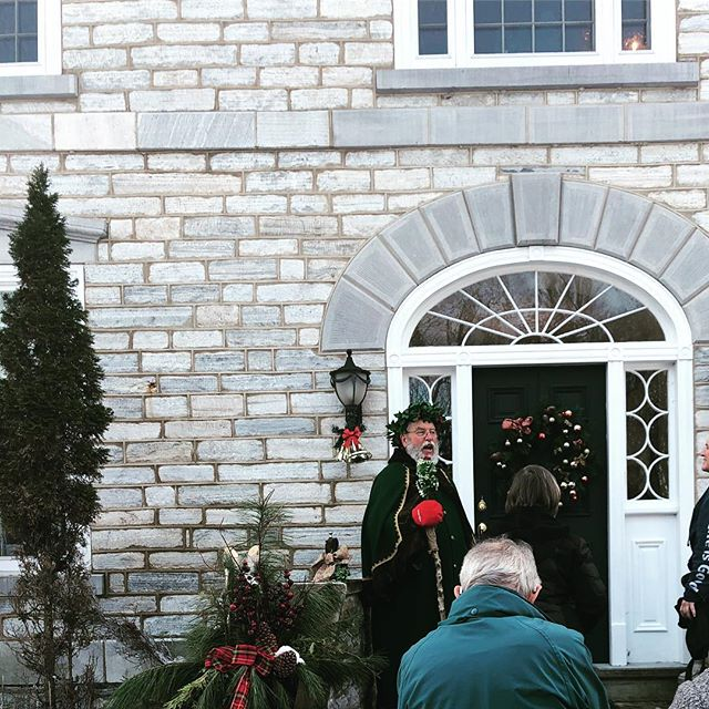 We had a great time touring beautiful homes this weekend as part of our retreat weekend! Thanks to CFUW Perth for organizing a wonderful Heritage Perth Christmas House Tour! We even met Father Christmas! . . . #christmas #holidays #winter #december #yogaretreat #retreat #wellness #tistheseason #mindfulnessmoments #perthontario #lanarkcounty #travelontario #exploreontario #canada
