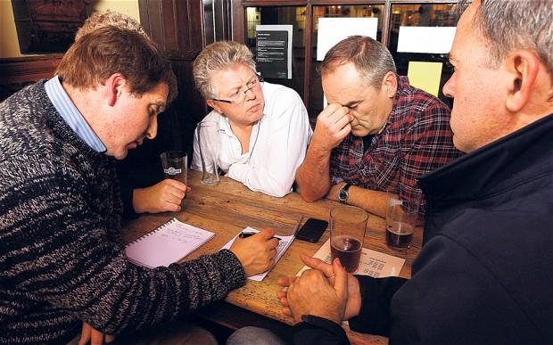 Pub Quiz Time - Friday 30th November — Burnley Cricket Club