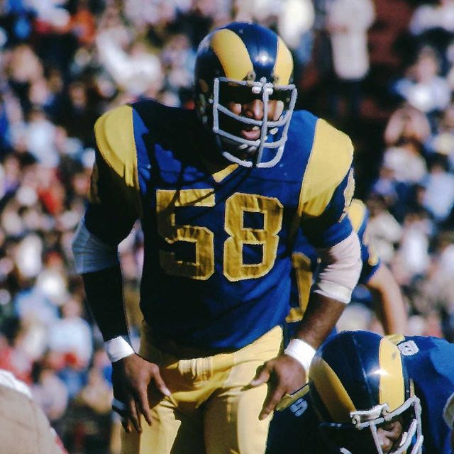 If you're like most people my age, it's unlikely you've heard of Isiah Robertson. Though he was a six-time Pro Bowl linebacker for the @Rams in the 70s, his life took a sharp downhill turn as his career ended.  Following football, he became addicted to drugs, famously spending $25,000 on cocaine over a 31-day stretch. A drug dealer once beat him so bad it required 100 stitches and left him with 13 broken teeth. The lead barrel of a shotgun was forced in his mouth, only it jammed and Isiah managed to escape.  But his story didn't end there.  After three years of rehab, Isiah got clean and came to know Jesus. His life was forever changed.  I share Isiah's story because it's one of tremendous impact. More than 5,000 men have gotten clean from drugs and alcohol with Isiah's help at the treatment center, House of Isaiah, he opened nearly 30 years ago. Talk about a ripple effect. —  I met Isiah once. It was October 2013 when he randomly knocked on my office door and introduced himself. To that point, all I knew was the first half of his story. Gifted linebacker. Womanizer. Drug addict.  Over the next hour, I listened to the second half - the story of Christ's redemption in his life - in rapt silence. We bonded over our faith and dislike for that weekend's opponent, the @49ers. We ended our impromptu conversation with a firm handshake before he pulled a business card from his leather padfolio, assuring me to call if I ever needed anything. —  On Thursday night, Isiah was on his way home after sharing his story with a high school football team outside of Dallas. His car was struck by a semi, then another car in the opposite lane. He passed away shortly thereafter.  Boy, do I wish y'all could've met him, too. Rest in peace, Isiah. Can't wait to see you in heaven.