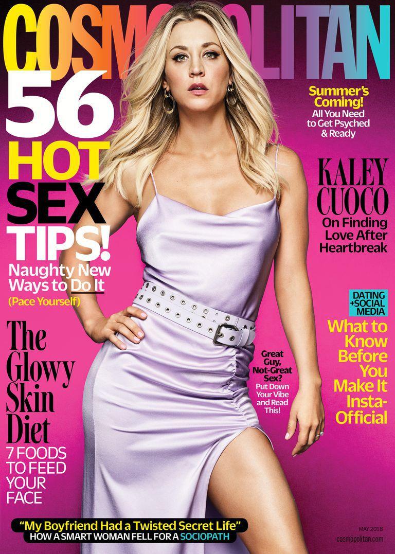 Kaley Cuoco / Cosmopolitan /May 2018