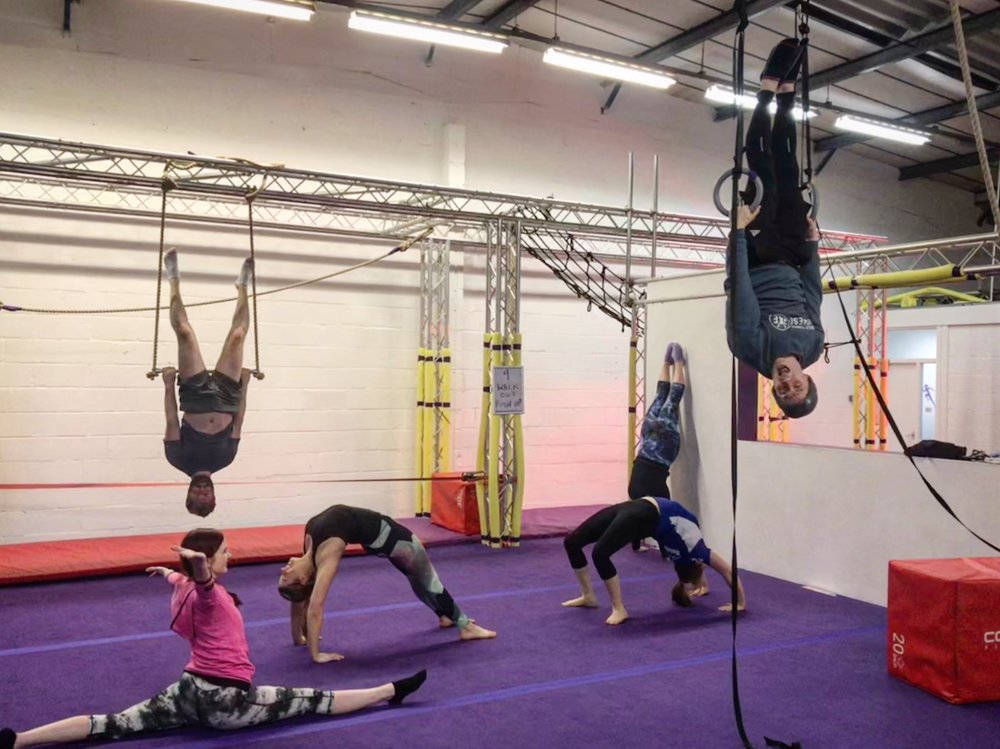 - ADULT gymnastics fitness course