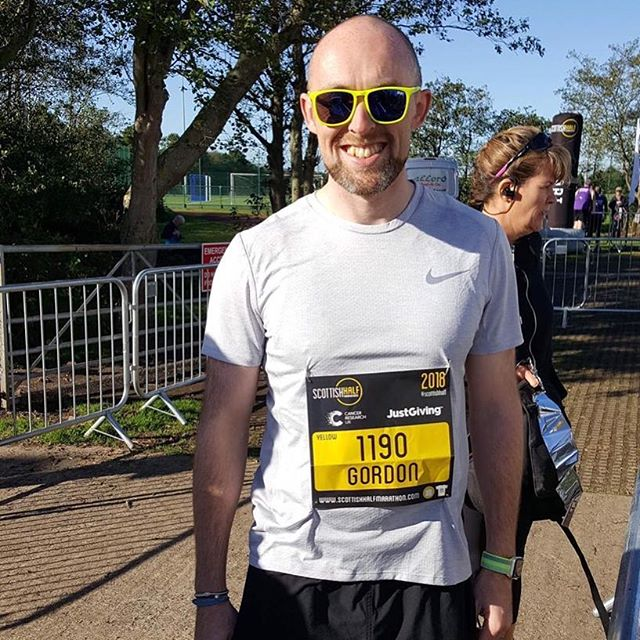 Well what can we say! FTF's @gordonallanpt absolutely SMASHED the @scottishhalfmarathon with an incredible time of 1hr36mins!! Well done to everyone who took part, raised money and achieved their goals. Now who thinks Gordon should do a full marathon?