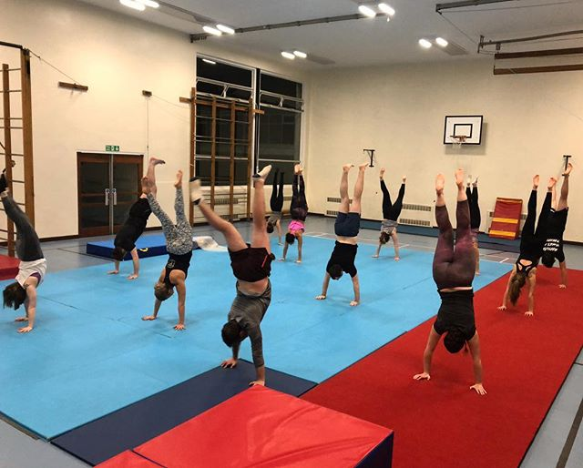This week at Gymnastics we learned how to do Handstands and everyone nailed it 💪👊 Well done guys!! Next week cartwheels 🤸‍♀️🤸‍♀️🤸‍♀️