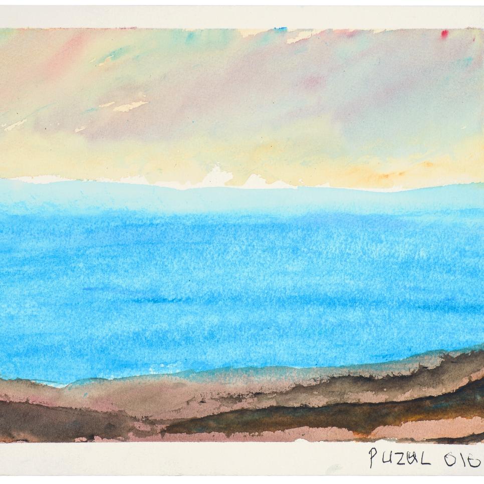 Mellow Mood   Kevin Seddon  Watercolour