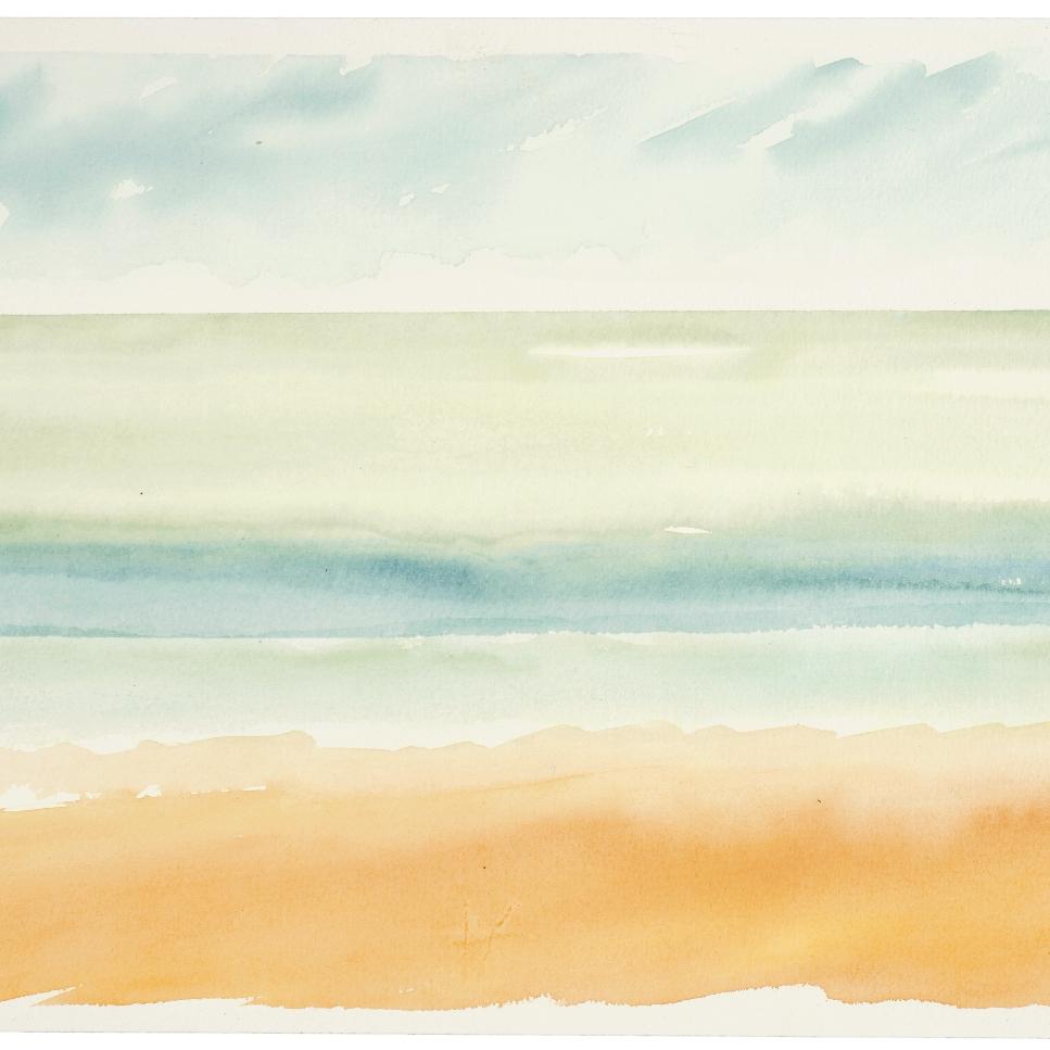 Spring Tides   Kevin Seddon  Watercolour