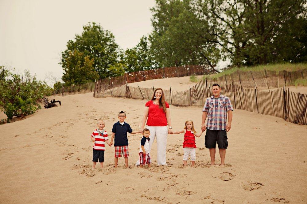 Family Standing on Beach.jpg