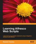 Learning Alfresco Web Scripts - book cover