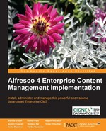 Alfresco 4 ECM Implementation book cover