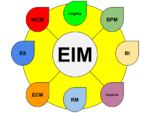 Enterprise Information Management diagram